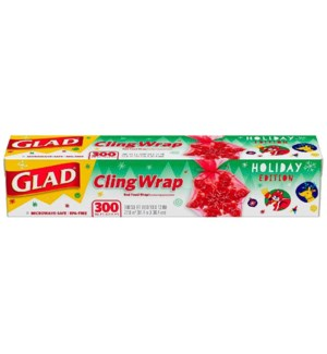 GLAD # 78608 CLING WRAP HOLIDAY EDITION