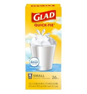 GLAD #78783 TRASH BAG SMALL FRESH CLEAN