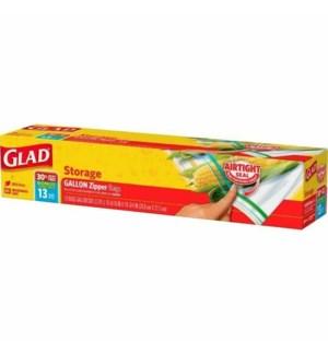 GLAD #79037 STORAGE ZIPPER BAGS