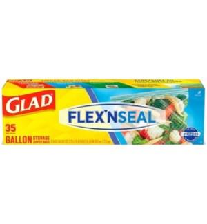 GLAD #79168 STORAGE BAGS FLEX'NSEAL