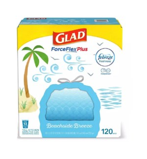 GLAD #79207 TALL KITCHEN BAGS BEACHSIDE BREEZE