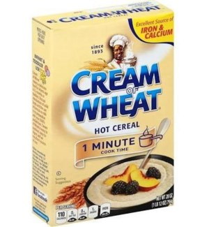 CREAM OF WHEAT #0622 HOT CEREAL/ 1 MIN C