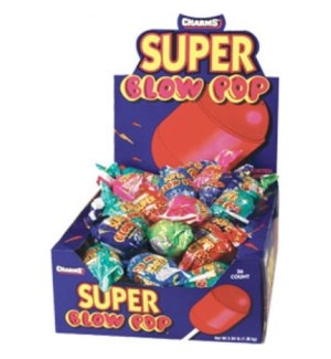 SUPER CHARMS BLOW POP #32856 ASST