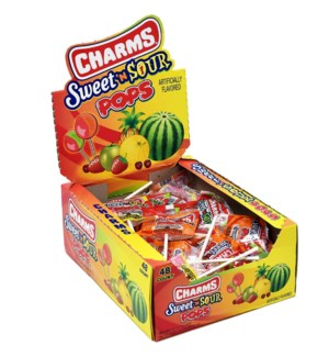 CHARMS SWEET'N SOUR POPS