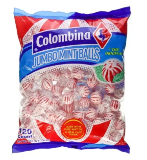 COLOMBINA #0133 JUMBO MINT BALLS