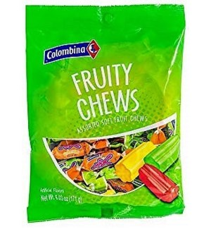 C #2154 FRUITY CHEWS CANDY BAG