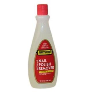 SELECT BRAND #31376 NAIL POLISH REMOVER