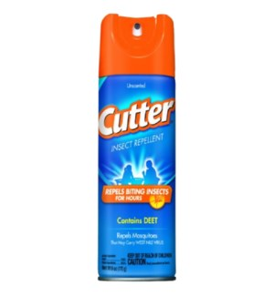 CUTTER #51020 UNSCENTED INSECT REPELLENT