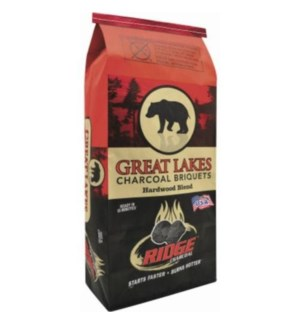 CHARCOAL GREAT LAKES 7.7 LB