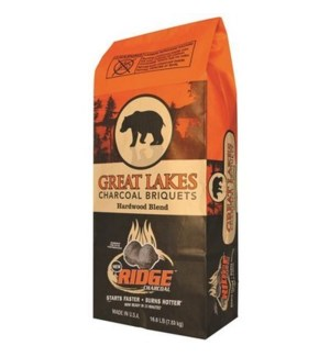 CHARCOAL GREAT LAKES 15.4 LB