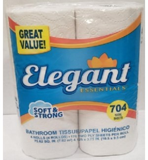 ELEGANT #17604 BATHROOM TISSUE 176 SHEET