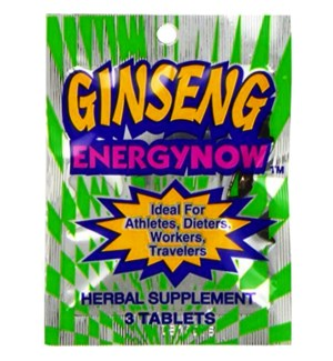ENERGY NOW - GINSENG #10241