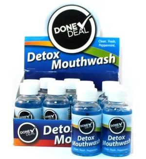 DONE DEAL MOUTHWASH #3475 DETOX