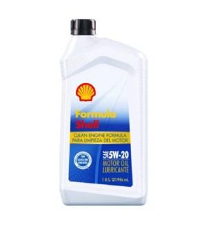 SHELL MOTOR OIL-5W20