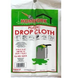 DROP CLOTH #DP006 PLASTIC