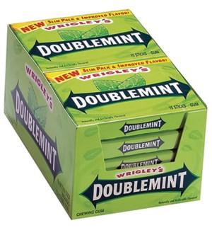 WRIGLEY'S #697 DOUBLEMINT GUM/SLIM PACK