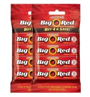 WRIGLEY'S GUM - BIG RED