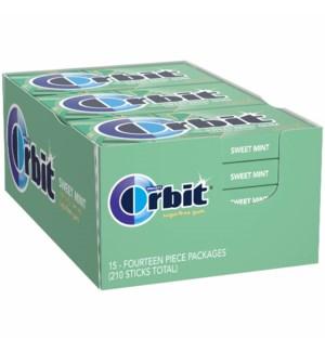 ORBIT GUM #11483 SWEET MINT GUM