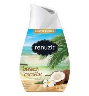 RENUZIT #66924 BREEZY COCONUT SOLID AIR FRESHNER