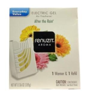 RENUZIT #37050 ELECTRIC GEL AFTER THE RAIN AIR FRE