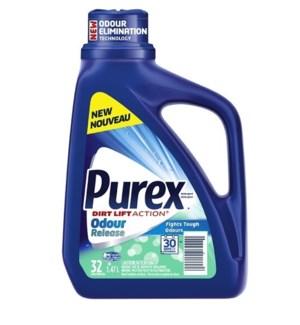 PUREX LIQUID #68093 ODOUR RELEASE DETERGENT