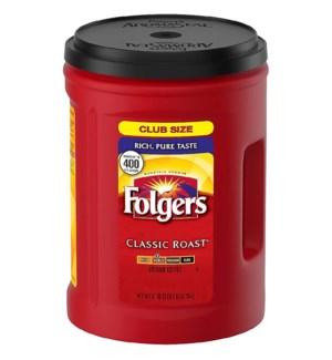 FOLGERS COFFEE - CLASSIC MED ROAST