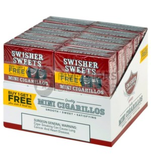 SWISHER SWEETS MINI CIGARILLOS 1*1 FREE