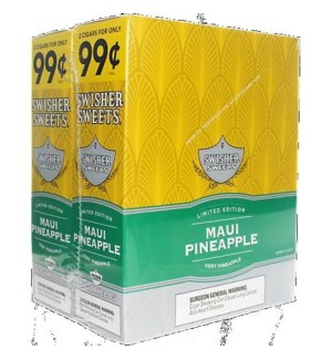 SWISHER SWEETS PP.99 MAUI PINEAPPLE