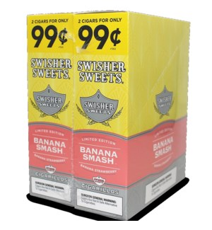 SWISHER SWEETS PP.99 BANANA SMASH