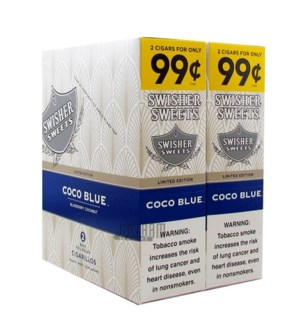 SWISHER SWEETS PP.99 COCO BLUE