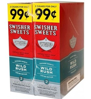 SWISHER WILD RUSH