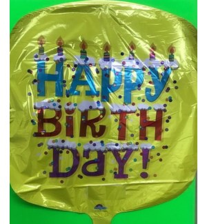 BALLOON #35619-2 BIRTHDAY