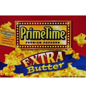 PRIME TIME #8142 EXTRA BUTTER POPCOR