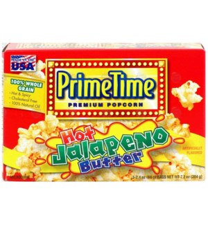 PRIME TIME #8139 JALAPENO BUTTER POP