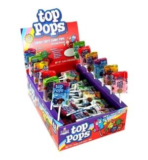TOP POPS #35510 ASST FLAVORS CANDY