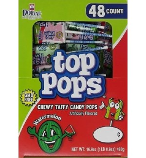 TOP POPS #35520 WATERMELON CANDY