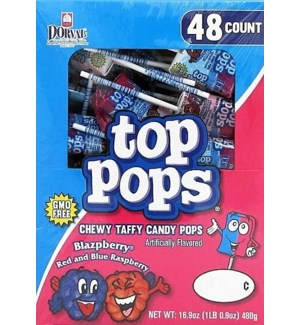 TOP POPS #35540 BLAZPBERRY CANDY