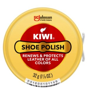 KIWI #10114A SHOE POLISH ALL COLORS PASTE