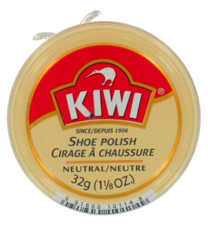 KIWI #10114B SHOE POLISH NATURAL PASTE