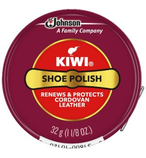 KIWI #10120 SHOE POLISH CORDOVAN PASTE