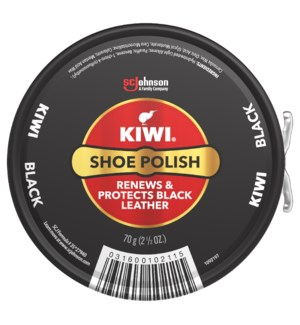 KIWI #08862 SHOE POLISH BLACK PASTE