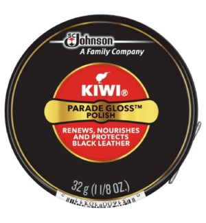 KIWI #10311 SHOE POLISH BLACK PASTE