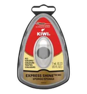 KIWI #18400 EXPRESS SHOE SPONGE NATURAL