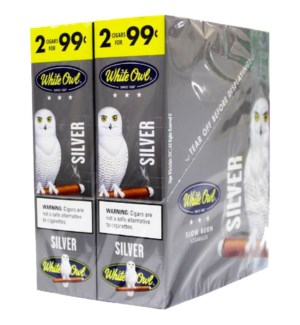 WHITE OWL PP.99 SILVER  CIGARAILLO