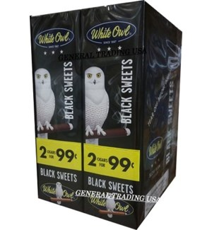 WHITE OWL PP.99 BLACK