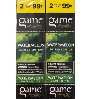 GAME PP.99 WATERMELON CIG