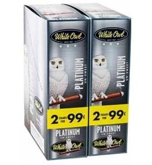 WHITE OWL PP.99 PLATINUM CIGARILLOS