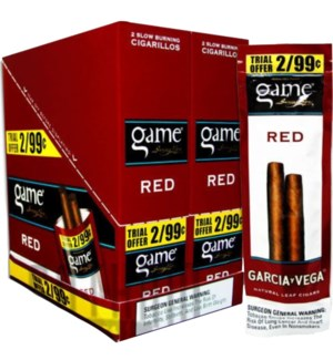 GAME PP.99 RED CIG