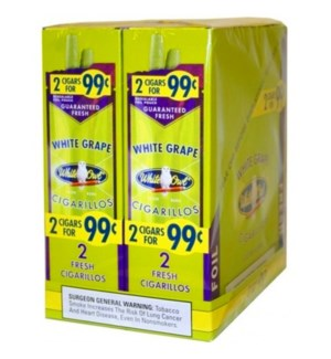WHITE OWL PP.99 WHITE GRAPE CIGARILLOS