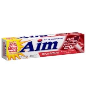 AIM T'PASTE #00652 CINA-MINT GEL